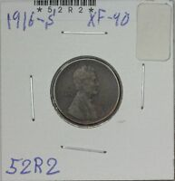 1916-S WHEAT CENT EXTRA FINE