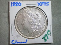 1880 MORGAN SILVER DOLLAR/ COOL COIN/ CLEANING