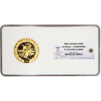 2008 CANADA GOLD OLYMPICS COMPETITION $300 - NGC PF69 UCAM