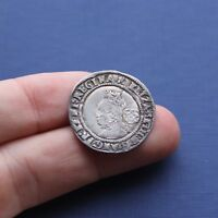 HAMMERED SILVER COIN ELIZABETH 1ST SIXPENCE 1571 AD