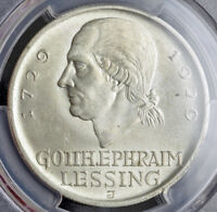 1929 GERMANY  WEIMAR REP. . SILVER 5 MARK