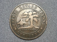 1871 PRINCE EDWARD ISLAND CANADA LARGE CENT QUEEN VICTORIA I