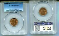 1941 S LINCOLN HEAD PENNY PCGS MINT STATE 64 RED 8173L