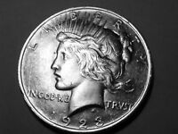 1923P PEACE SILVER DOLLAR $1 UNCIRCULATED  220