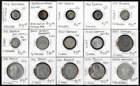 15 OLD GERMAN COINS  1726 1929  CAT VALUE ABOUT $750 > SEE P
