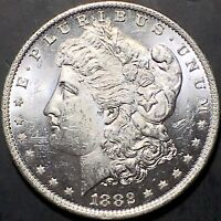 1882-O MORGAN SILVER DOLLAR STRIPPED FROM A NEW ORLEANS MS /BU US COIN SET