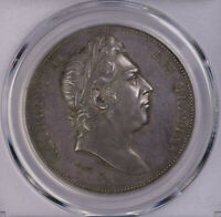PCGS PR63 1820 GREATE BRITAIN CROWN SILVER PROOF NICE TONING