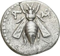 LANZ GREEK PHOENICIA ARADOS DRACHM BEE STAG PALM DATED CY 10