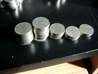40 KING GEORGE V CANADA NICKEL 5 CENTS  MIXED DATE COINS