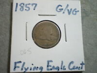 1857 FLYING EAGLE CENT/ SUPER CHOICE
