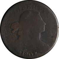 1807/6 LARGE CENT POINTED 1 S.273 R.1 GREAT DEALS FROM THE EXECUTIVE COIN COMPAN
