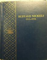 BUFFALO NICKEL ALBUM WITH 33 COINS LOT 84
