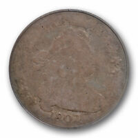 1807 10C DRAPED BUST DIME PCGS AG 3 ABOUT GOOD US TYPE COIN