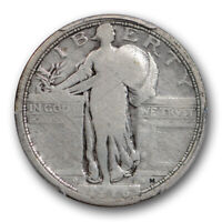 1916 25C STANDING LIBERTY QUARTER PCGS G 6 CAC APPROVED KEY DATE LOOKS VG