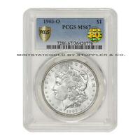 1903-O $1 SILVER MORGAN PCGS MINT STATE 67 PQ APPROVED DOLLAR NEW ORLEANS MINT GEM GRADE