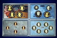 2009 S U.S. 18 COIN PROOF SET. COMPLETE AND ORIGINAL IN BLUE  MINT PAPER BOX