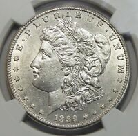 1889-CC NGC AU58 MORGAN DOLLAR