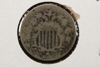 1875 SHIELD NICKEL POROUS SURFACE