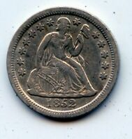 1852-P SEATED LIBERTY DIME -   SEE PROMO