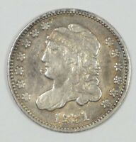 1831 CAPPED BUST SILVER HALF DIME  FINE 5C