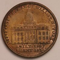 GENUINE 1837 HARD TIMES TOKEN COIN