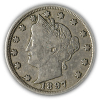1897 LIBERTY V NICKEL GREAT DEALS FROM THE EXECUTIVE COIN COMPANY