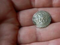 UN RESEARCHED MEDIEVAL HAMMERED SILVER HALF GROAT COIN METAL