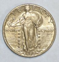 1926-S STANDING LIBERTY QUARTER ALMOST UNCIRCULATED SILVER 25-CENTS