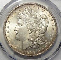 1897-O PCGS MINT STATE 61 MORGAN DOLLAR