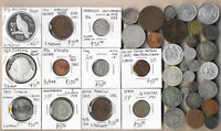 39 OLD MIDEAST & AFRICA COINS  CV $600   EXCLNT LOT    SEE P