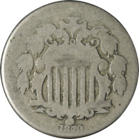 1870 SHIELD NICKEL GREAT DEALS FROM THE EXECUTIVE COIN COMPANY