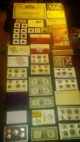 COIN LOT BIG COLLECTION MINT SETS PROOF $2 VINTAGE TRAIN SIL
