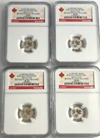2016 NGC PF69 $1 EARLY RELEASE CANADA SILVER MAPLE LEAF GOLD
