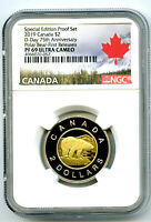 2019 $2 CANADA TOONIE SPECIAL D DAY PROOF NGC PF69 UC TWO DO