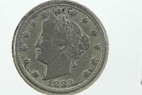1883 LIBERTY NICKEL CENTS VARIETY OLD LIGHT CLEANING