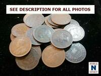 NOBLESPIRIT   CT VALUABLE CANADA LARGE CENT COIN HOARD INTAC
