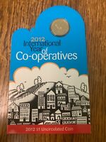 2012 AUSTRALIAN COINS INTERNATIONAL YEAR OF CO OPERATIVES CO
