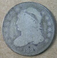 10C 1828 SMALL DATE CAPPED BUST DIME  GOOD  AVENUECOIN