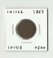 1865 TWO CENTS -  101722