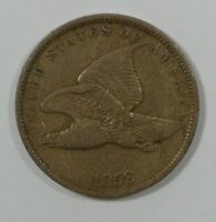 1858 FLYING EAGLE CENT WITH SMALL LETTERS  FINE SMALL 1C
