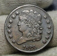 1826 CLASSIC HEAD HALF CENT -  COIN, KEY DATE, ONLY 234,000 MINTED 8428