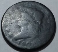 1808 CLASSIC HEAD U.S. LARGE CENT. LOT1 AG, SOME SURFACE ROUGHNESS