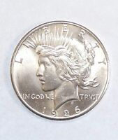 1926 PEACE DOLLAR CHOICE BRILLIANT UNCIRCULATED SILVER DOLLAR