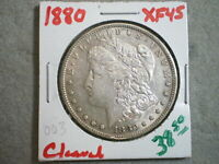 1880 MORGAN SILVER DOLLAR/ CLEANED  ---UNCERTIFIED-----SHIPS FREE------------