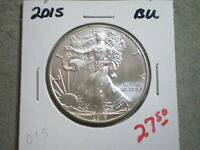 2015 AMERICAN SILVER EAGLE  -UNCERTIFIED-