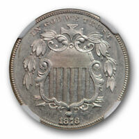 1878 SHIELD NICKEL 5C NGC PR 64 PROOF ONLY ISSUE KEY DATE LOW MINTAGE COIN