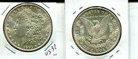 1891  S MORGAN SILVER DOLLAR  CHOICE BU  4532M