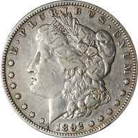1892-S MORGAN SILVER DOLLAR GREAT DEALS FROM THE EXECUTIVE COIN COMPANY