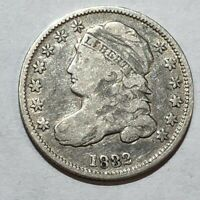 1832 CAPPED BUST HALF DIME. FINE.  LOT2FTC