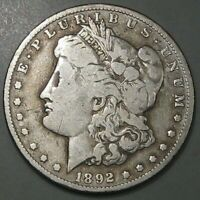 1892-O MORGAN DOLLAR. BETTER DATE/CLEANED. 4